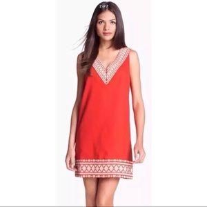 Kate Spade Dress Laureen Embroidered Linen 6